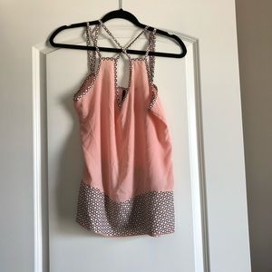 Pink tank top. Large! Never worn!